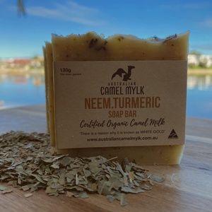 Neem.Turmeric Camel Milk Soap Bars - Pack of 4
